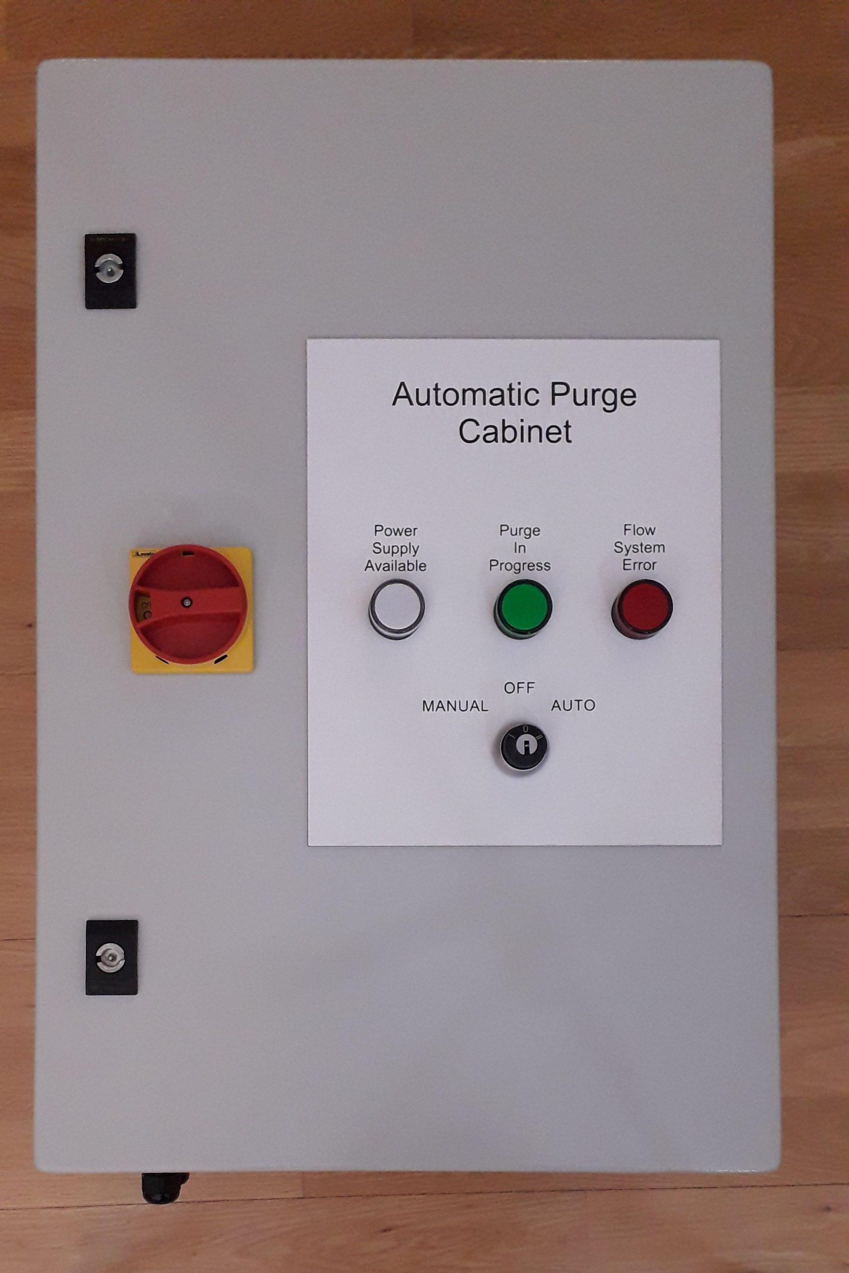 Automatic Purge Cabinet