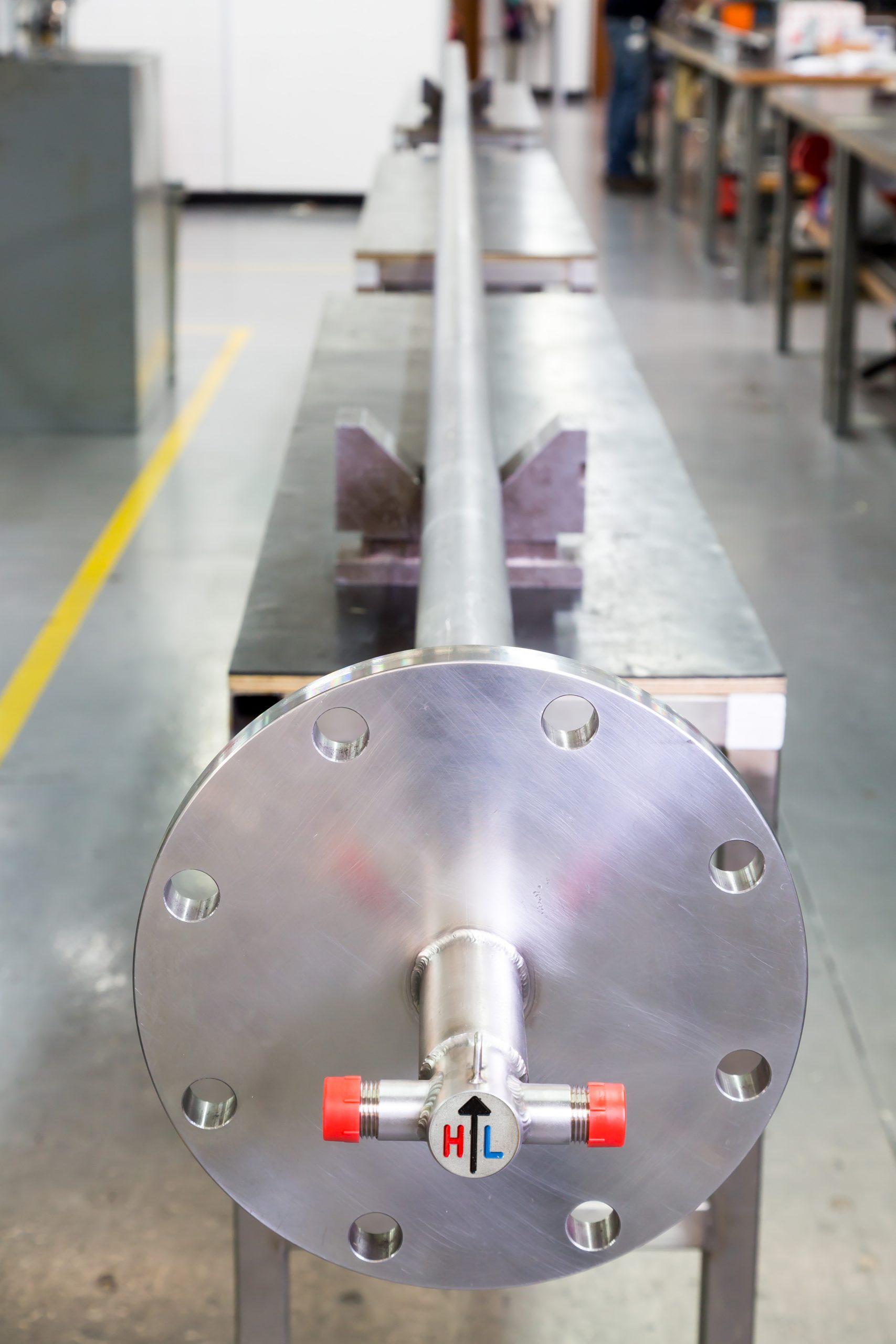 View taken inside the workshop