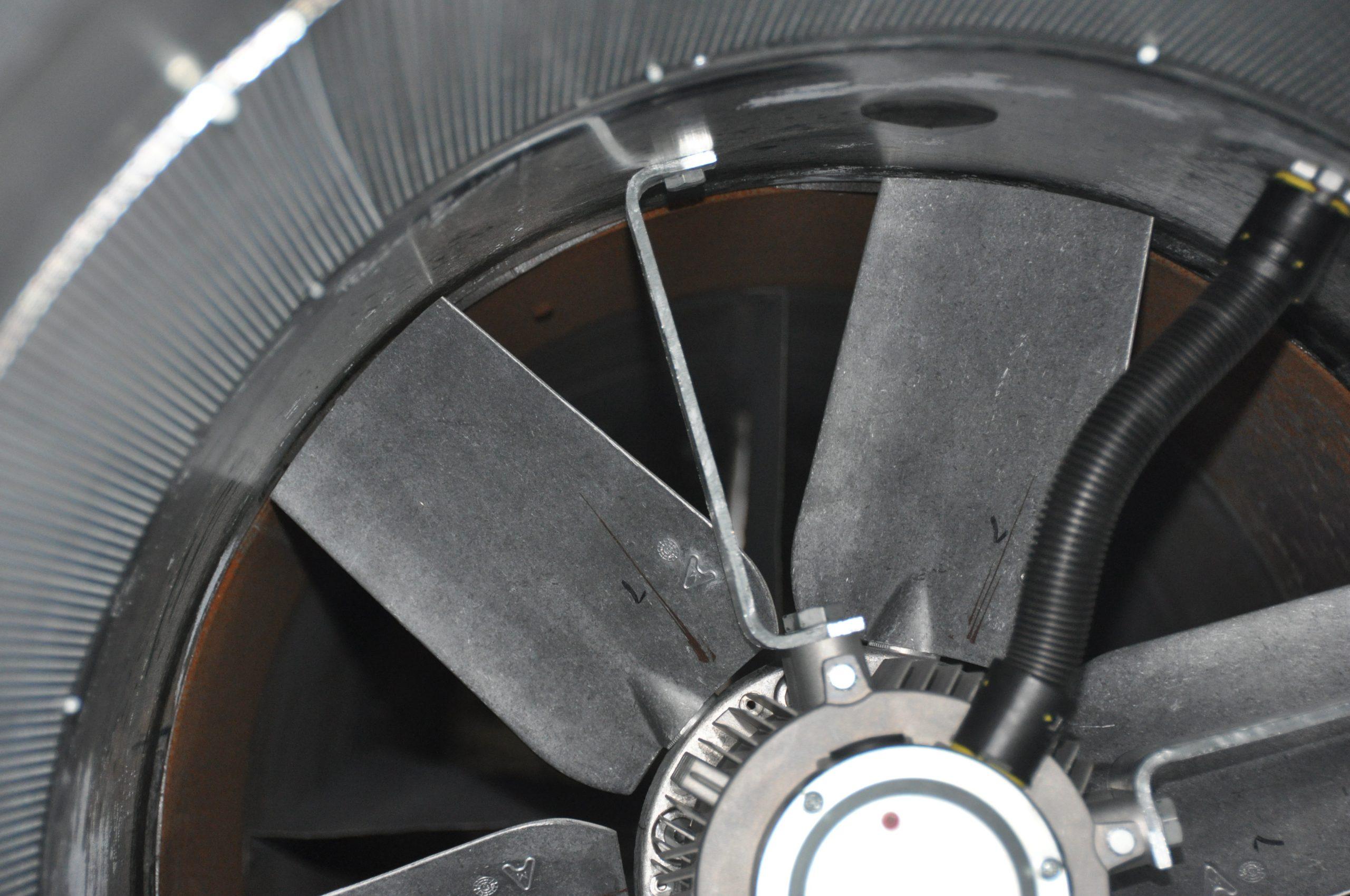Part View of Test Fan